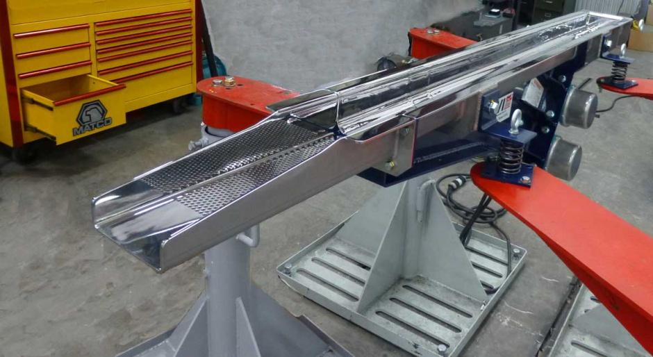 Vibrating Conveyor  Jvi Vibratory Equipment-9546